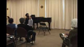 "Raphael age 5 performs ""Sing"" Honolulu, Hawaii"