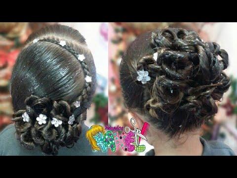 PEINADO/ RECOGIDO ELEGANTE  MUY FACIL Y RAPIDO/ Peinados Rakel 7