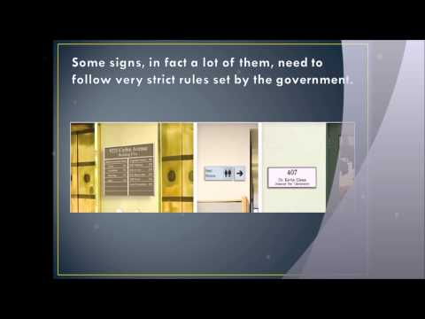 Design Ideas For Office Door Signs