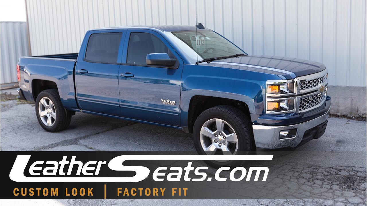 2015 Chevy Silverado Custom Interior Replacement Leather Seats