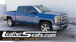 2015 Chevy Silverado Custom Interior Replacement Leather Seats - LeatherSeats.com