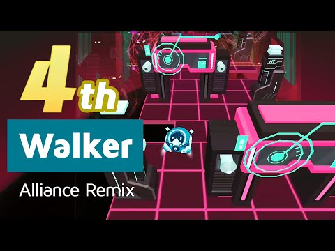 Rolling Sky 4th Walker (Alliance Remix) | All Mystery Box Levels Compilation