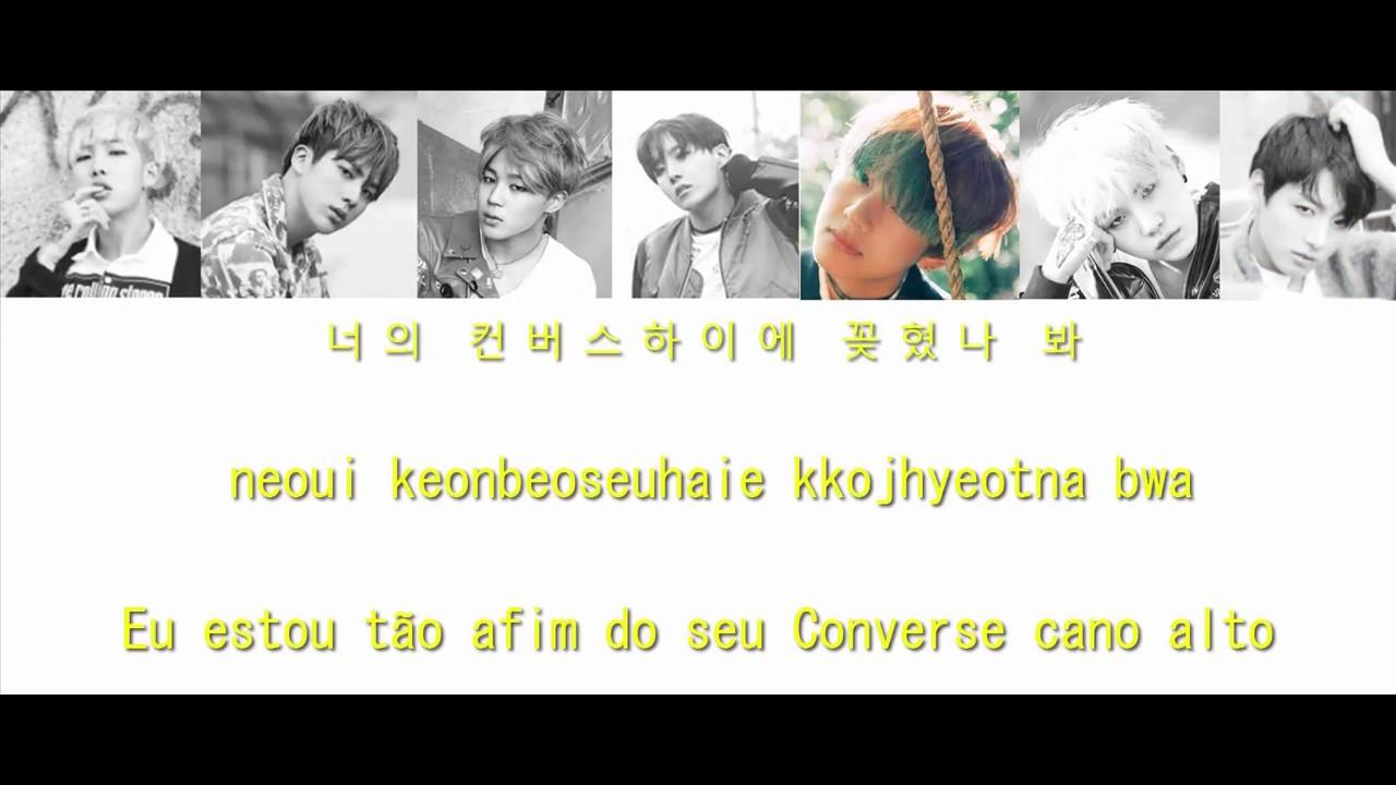 LEGENDA PT-BR  BTS - Converse High (Color Coded Lyrics)  Hangul  Romanização Português(BR)  a697084df