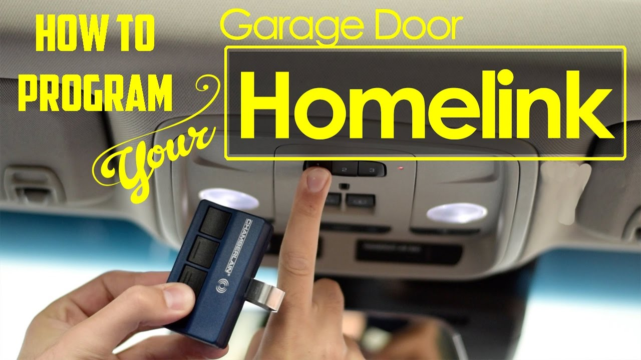 How To Program Universal Home Remote Aka Homelink Garage