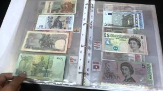 banknotes collection 2016