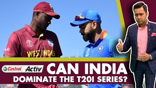 #WIvIND: Can INDIA dominate the T20I series?   Castrol Activ #AakashVani