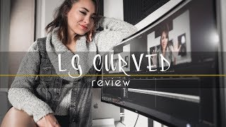 I LOVE THESE CURVES   LG CURVED MONITOR   LG 34UC98-W 34-Inch
