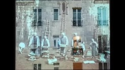 Kunst am Fenster in Paris