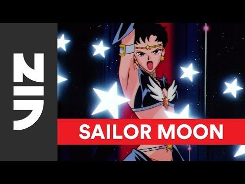 Sailor Moon Sailor Stars | Sailor Star Lights English Voice Reveal | VIZ