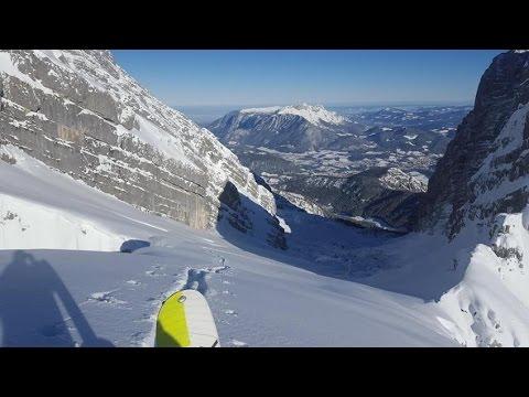 Skitour Watzmannkar - 3.Kind (2209m) - Berchtesgadener Alpen