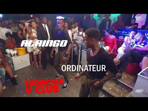 Spectacle ALAINGO Feat ORDINATEUR Coupé Décalé Uni!Démo Du PIKIMIN & KPADOOMPO AU V CLUB (PARIS)