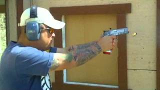 SVI Infinity .40s&w Test Fire