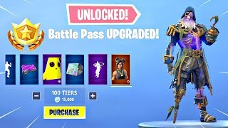 'GLITCH' How To Get MAX Tiers (Tier 100) Dans Fortnite Saison 8 GRATUIT! - Max Battle Pass