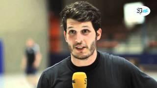 Kai Rottschäfer vom TuS Ferndorf zum Leichlingen-Spiel