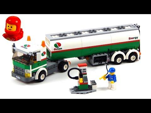 Lego City 3180 Tank Truck Lego Speed Build