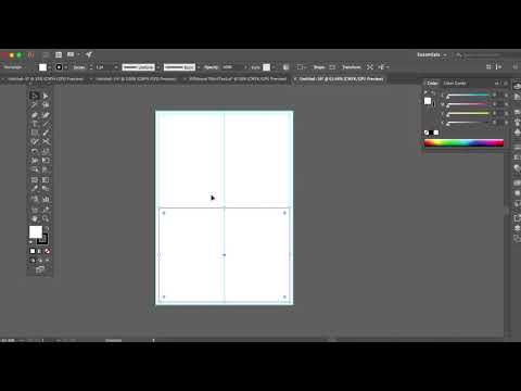 Graphic Publications / Making Your Grid + Guides in Illustrator