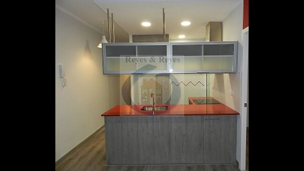 Reforma de piso peque o con cocina americana - Reforma piso pequeno ...