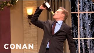 Conan's Kick-Ass Christmas Party Flashback - CONAN on TBS