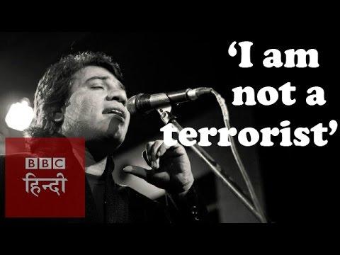 'I am an artist and not a terrorist' (BBC Hindi)