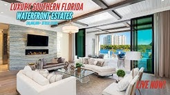Waterfront LUXURY REAL ESTATE in Southern Florida! (Dream Homes)