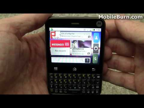 Motorola Charm for T-Mobile USA review - part 1 of 2