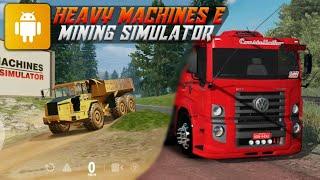 Heavy Machines & Mining Simulator para android 2021