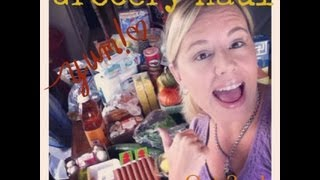 Grocery Haul:  October 2nd