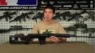 Airsoft GI - A&K Full Metal SVD Spring Sniper Rifle Gun Review