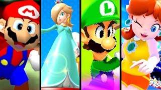 Super Mario Evolution of the MEGA MUSHROOM 2001-2015 (N64 to Wii U)
