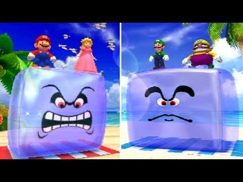 All Mario Party 4 Minigames - Top 100 Vs. Original (Comparison)