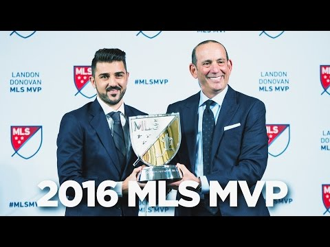 David Villa voted 2016 MLS MVP | AWARD CEREMONY
