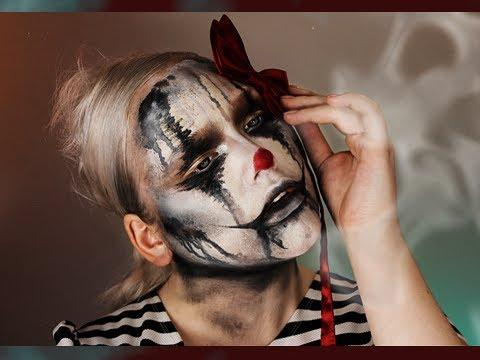 Halloween: The Sad Clown Makeup Tutorial - YouTube