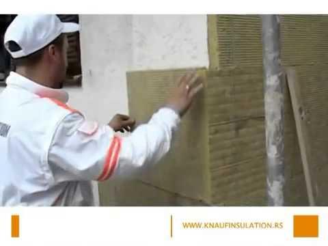 Fasada Sa Kamenom Vunom Knauf Insulation Youtube