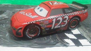 "Disney Pixar Cars Todd ""The Shockster"" Marcus die-cast Review"
