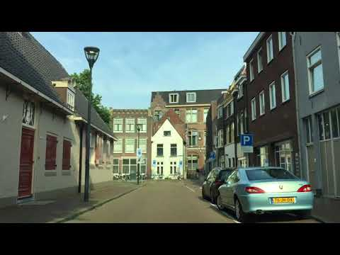 Zwolle, The Netherlands - drive around in the center