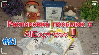 #21 Новая Распаковка Посылок с Aliexspress 2019.  (Что Купить в Китае ?)