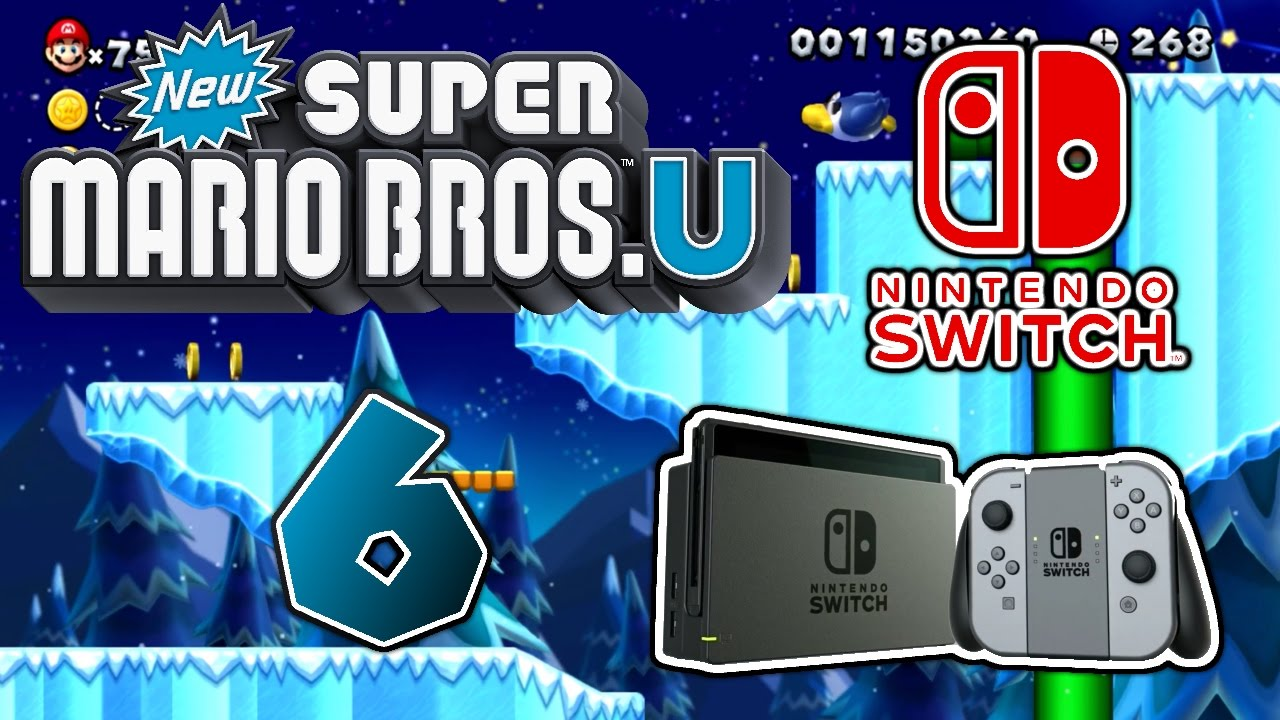 New Super Mario Bros U 06 Die Nintendo Switch Youtube