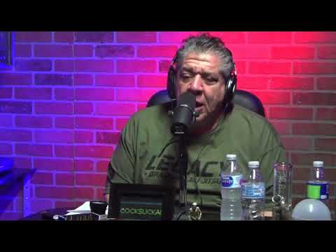 Joey Diaz goes off during the National Anthem