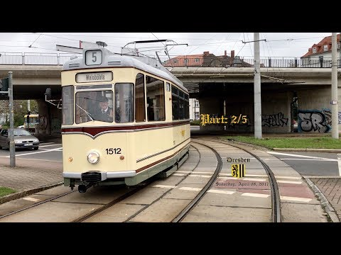 Railway and tramway weekend / Dresden, 8./9. April 2017 / Part: 2/5