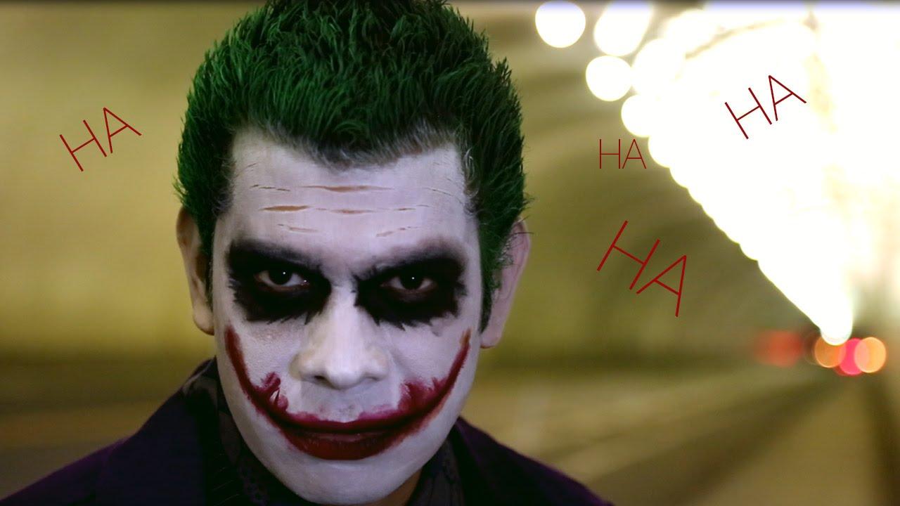 Joker Cosplay Makeup Tutorial