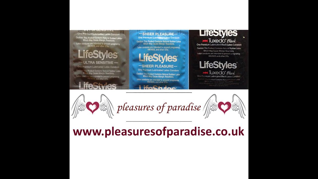 Lifestyles Condoms - Sheer Pleasure, Ribbed, Ultra ...