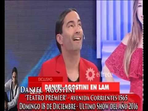Daniel Agostini Programa Los Angeles de la mañana - Canal 13