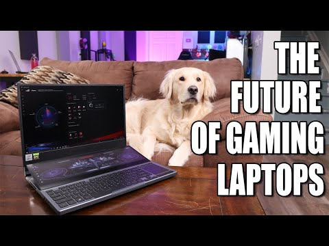 WHY aren't ALL gaming laptops like this! - ASUS ROG Zephyrus Duo 15 w/ Intel Core i7
