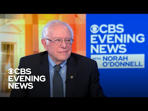 "Sanders reacts to Hillary Clinton saying ""nobody likes him"""
