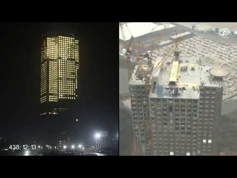 Chinese Company Builds 57-Story Skyscraper in 19 Days