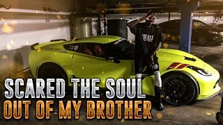 TOOK MY BROTHER FOR THE RIDE OF HIS LIFE!!!
