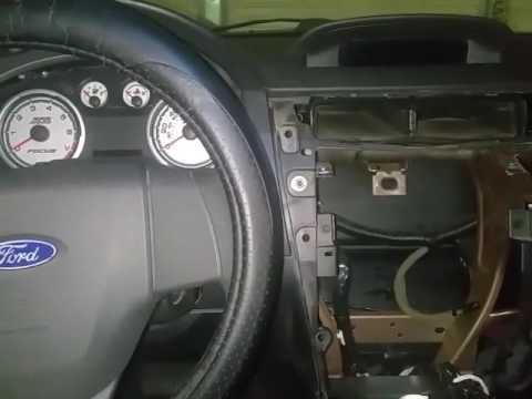 2008 2010 ford focus factory radio removal youtube. Black Bedroom Furniture Sets. Home Design Ideas