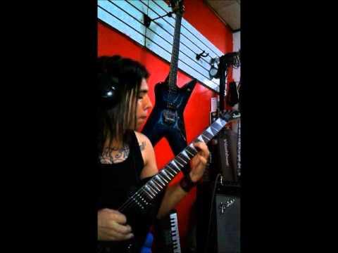 Lamb of God  Redneck guitar cover Vik mora