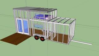 Tiny House Plans For Family Of 4 On Wheels - Gif Maker  Daddygif.com  See Description
