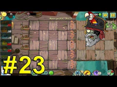 Plants Vs Zombies 2, Mares Piratas Día 23